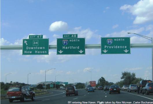 Y-91 - New Haven exit