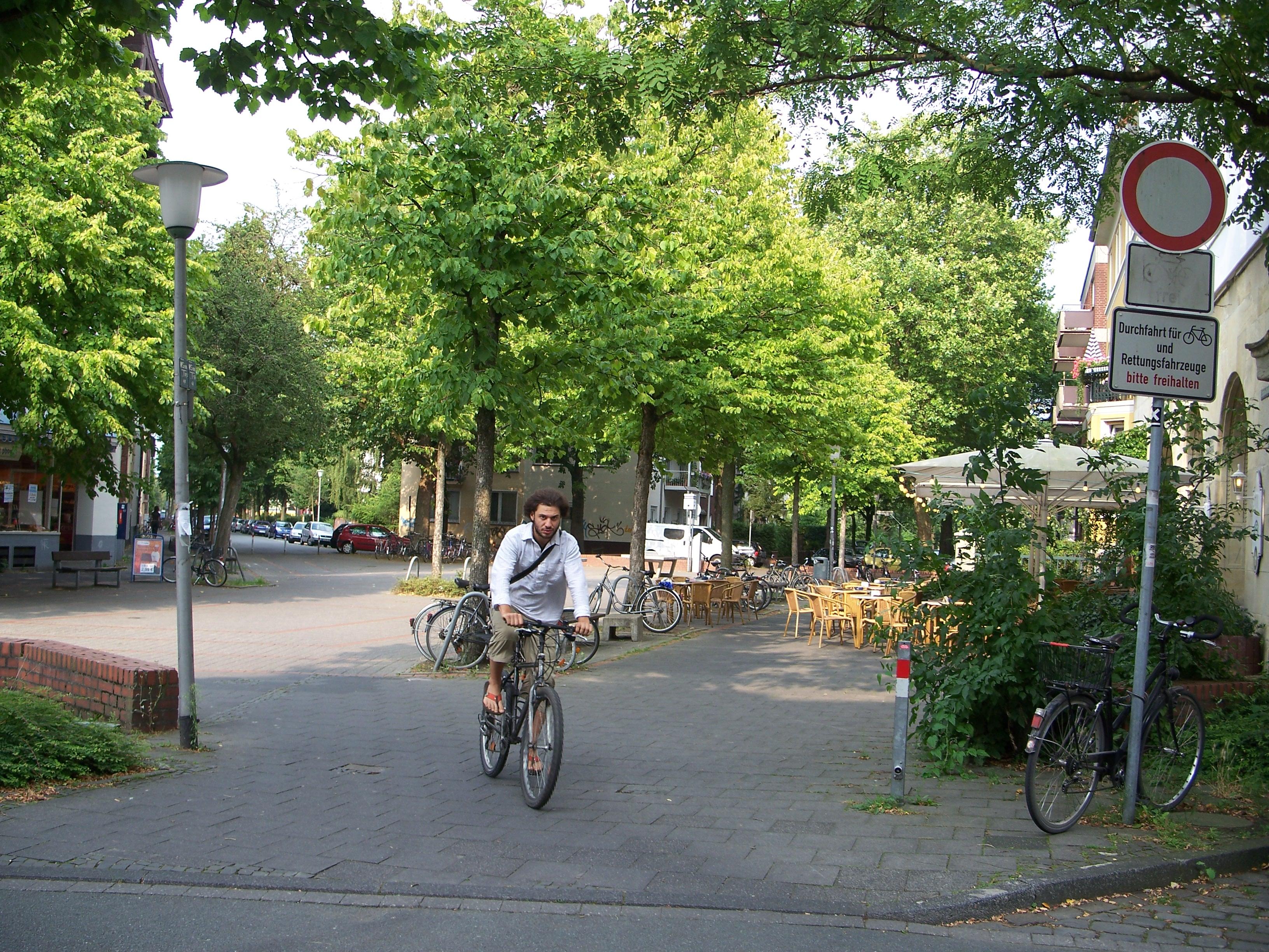 Muenster street scene