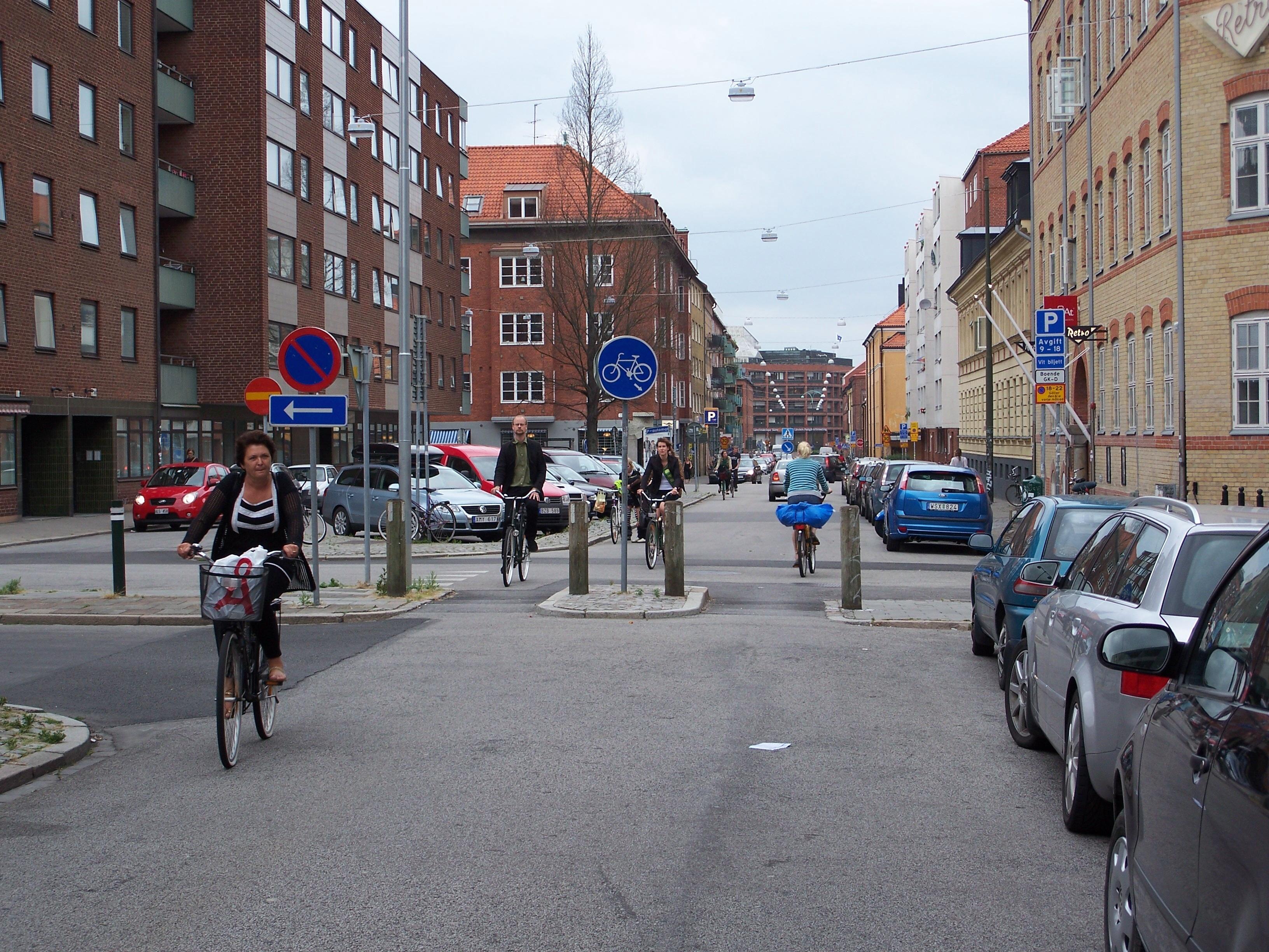 Malmo street scene