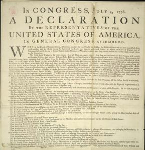 my very own declaration of independence What the declaration of independence really means by 'pursuit of  the declaration of independence guarantees the  that means it isn't just about my.