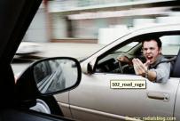 road rage male