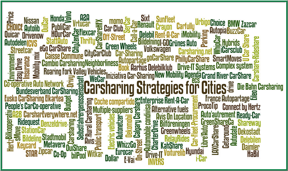 World Carshare 2014: Policy/Strategies Program for Local Government (3/6)