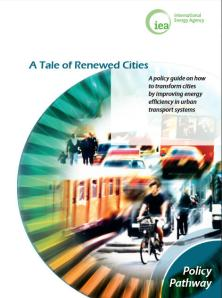 report cover - IEA on Renewed Cities