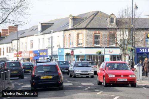 UK Wakes Penarth street