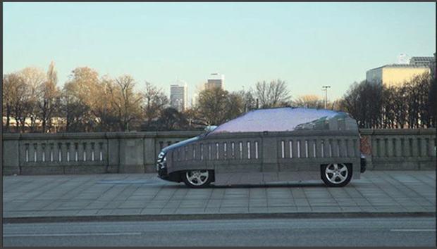 invisible car - 2