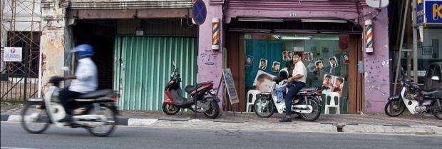malaysia penang motor bikes