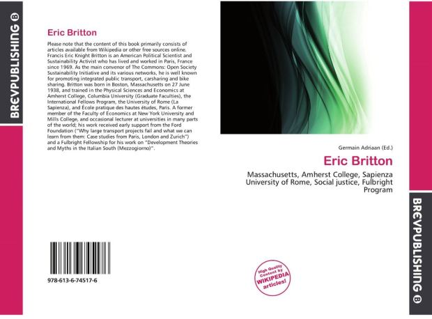 eric britton strange non book - large