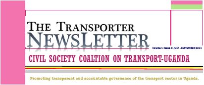 uganda - Transporter Newsletter - top page