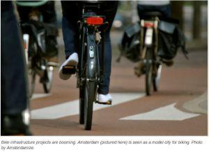 netherlands amsterdam cyclists - bottom half