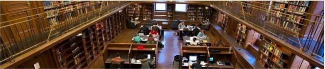 Butler Library reading room - Columbia Univeresity