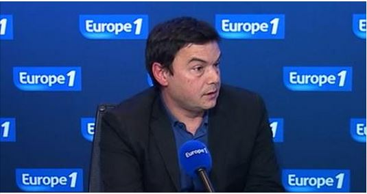 Piketty on Europe 1 interview -