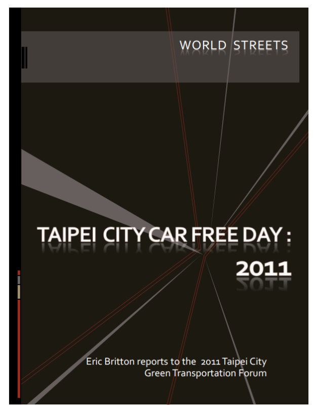 taiwai taep City CFD 2011 PPT cover